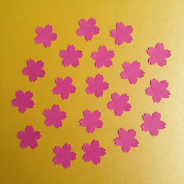 Aplique Flores de Cerejeira Pink