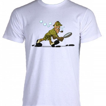 Camiseta Sherlock Holmes - 02