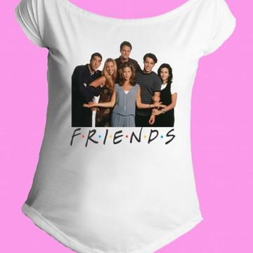 Camiseta Friends gola canoa 1