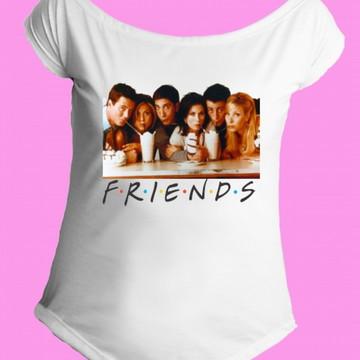 Camiseta Friends gola canoa 2