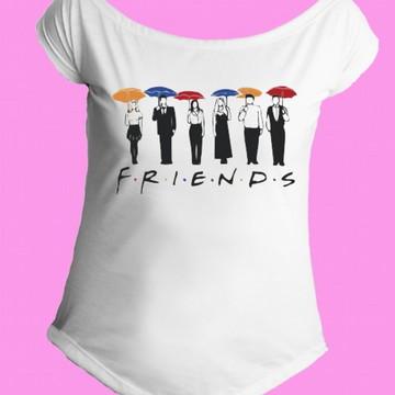 Camiseta Friends gola canoa 3