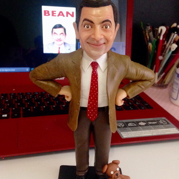 Escultura Mr. Bean