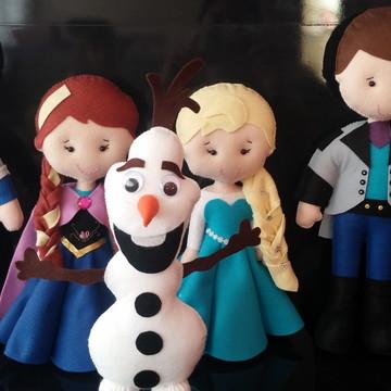 Kit Frozen em feltro
