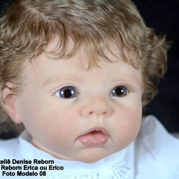 Boneca Bebê Reborn Erica ou Erico parece um bebe de verdade