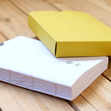 CRU GIALLO Caderno artesanal pH neutro
