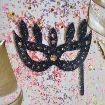 Topo de bolo edição Carnaval - Veneza