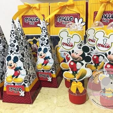 Kit Festa Personalizada Mickey