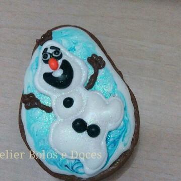Biscoito decorado Olaf-frozen