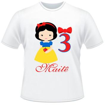 Camisetas Branca de Neve 2