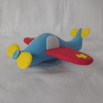 Avião em Feltro kit Pequeno Principe