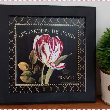 Quadro Decorativo - Les Jardins de Paris