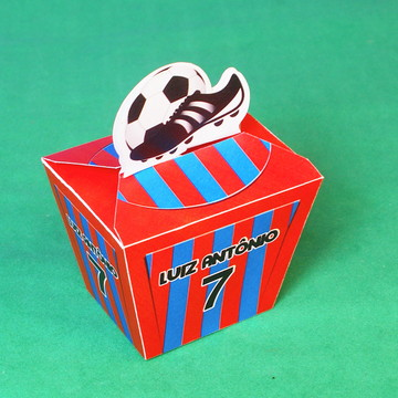 4e1fbd14fb Lembrancinha Gesso Chuteira Futebol Times Esporte