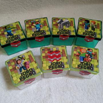 Caixinha 5x5 Minecraft