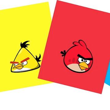 Sacola Angry Bird