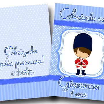 revista colorir soldadinho 14x10
