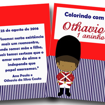 revista colorir soldadinho moreno 14x10