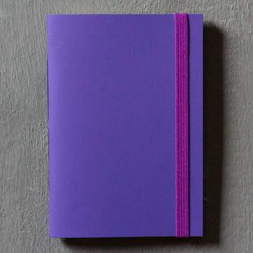 Caderninho Sem Pauta | Roxo