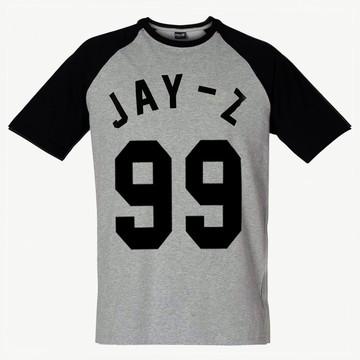 Camiseta Raglan Jay-Z Rap Dope Swag