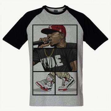 Camiseta Raglan Swag Kendric Lamar