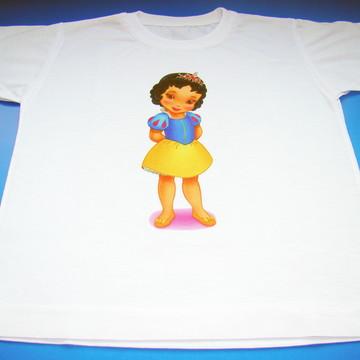 """Camiseta personalizada """"Branca de Neve"""""""