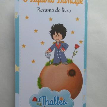 Lembrancinha Resumo livro pequeno princi