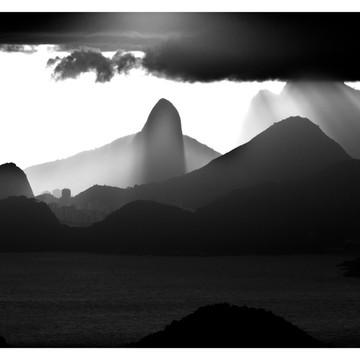 Fotografia Decoração - Montanhas do Rio