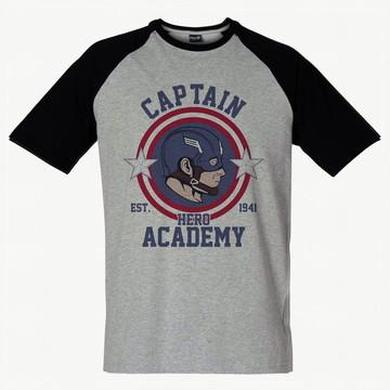 Camiseta Raglan SWAG Capitão America
