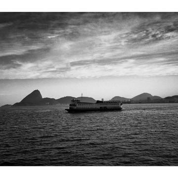 Fotografia Decoração - Barca Rio Niterói