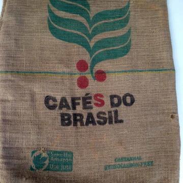 Saco de Juta Café do Brasil