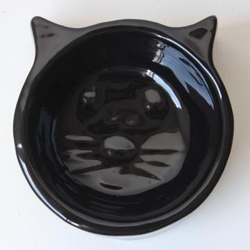 Comedouro de gato - Preta