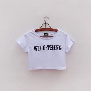 Camiseta Cropped Wild Thing