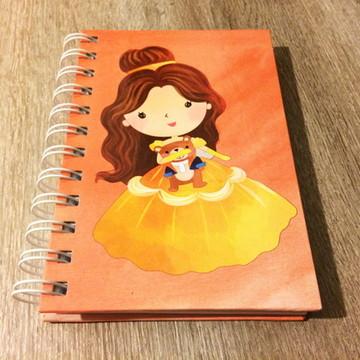 Caderninho Bela e a Fera