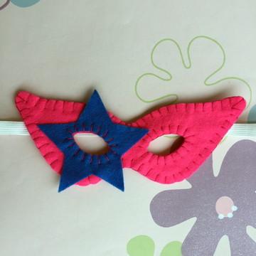 Máscara Artesanal Carnaval Estrela