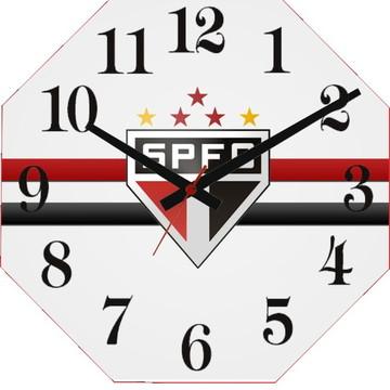f109c592c462e Relógio Personalizado Time São Paulo