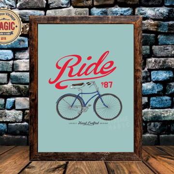 Black Friday - Quadro Vintage Bicicleta Retrô 01