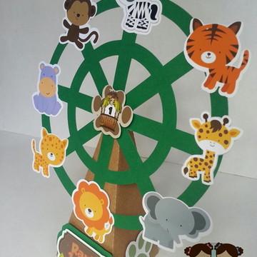 Roda gigante festa safari