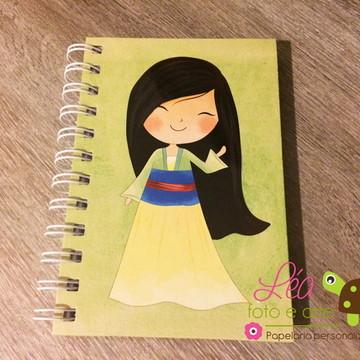 Caderninho Mulan