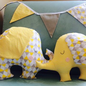 Kit almofadas elefante