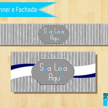 Kit Banner e Fachada - Elo 7 (bazar)