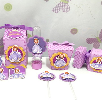 Kit Festa Infantil Princesa Sofia