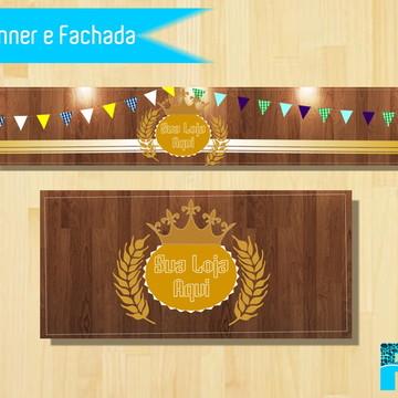 Banner e Fachada - Elo7 (bazar)