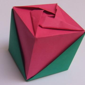 Caixa Cubo Rosa | Embalagem