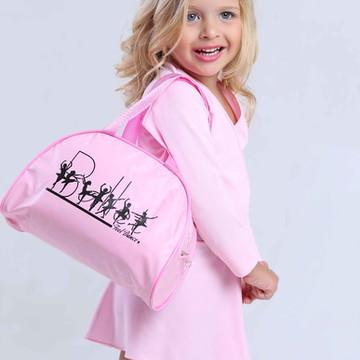 Bolsa para Ballet Infantil Rosa