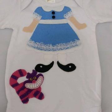 Camiseta ou body alice