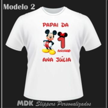 Camiseta Personalizada Minnie Vermelha
