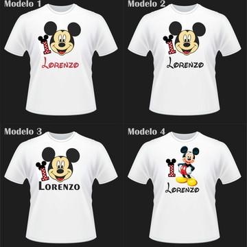 Camiseta Personalizada Mickey
