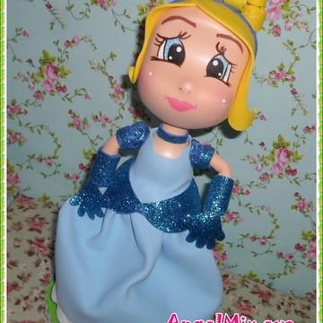 Princesa Cinderela personalizada  e.v.a