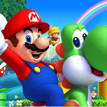 Painel Super Mario Bros