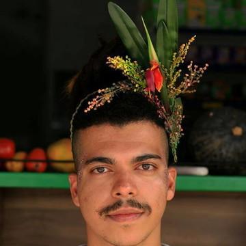 Acessório de flor para cabelo 042