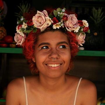 Acessório de flor para cabelo 037